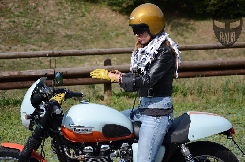 Racer & Leather