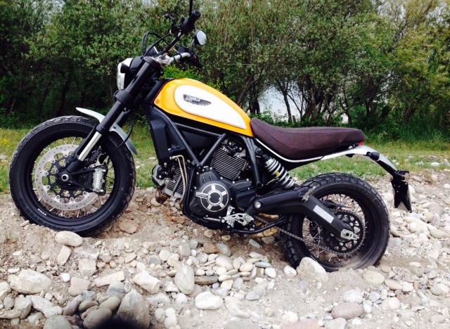 RAUR by Babila with Ducati Scrambler