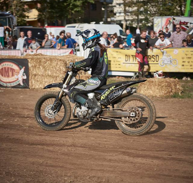 babila, the dirty day, flat track, women who ride,