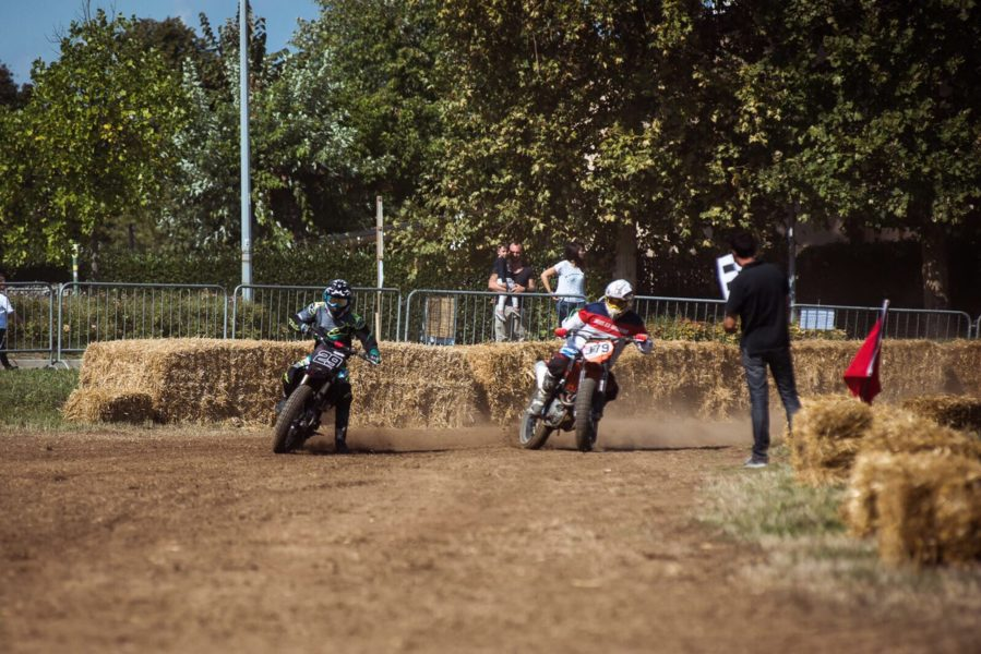 babila, flat track, the dirty day, di traverso school, female rider, women who ride,