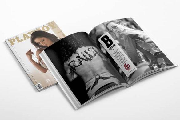 """magazine playboy febbraio 2018"""